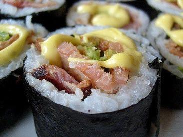 Bacon Sushi?