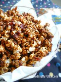 Bacon Caramel Popcorn Day!