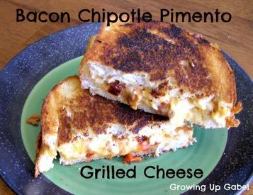 Bacon Chipotle Pimento Grilled Cheese!