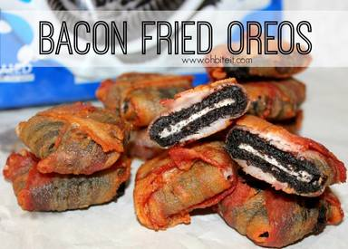 Bacon Fried Oreos!