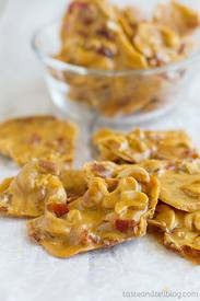 Cashew Bacon Brittle!
