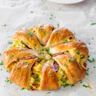 Crescent Bacon Breakfast Ring!