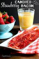 Strawberry Candied Bacon!