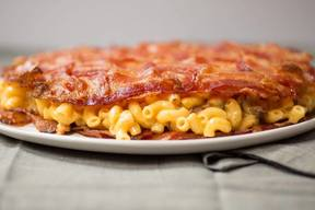 Bacon Mac & Cheese Quesadilla!