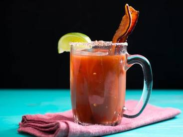 Mezcal Mary With Roasted Jalapeno Bacon!