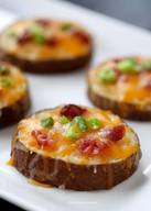 Easy Bacon Potato Skins!