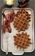 Bacon Gingerbread Waffles!