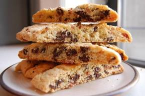 Bacon Chocolate Chip Biscotti!