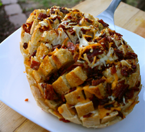 Grilled Bacon Cheddar Bread!