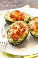 Avocado Bacon & Eggs!