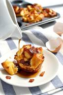 Pull Apart Bacon French Toast Muffins!