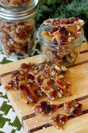 Bourbon Bacon Brittle!