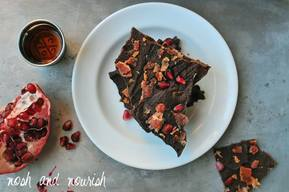 Maple Bourbon Bacon Dark Chocolate Bark!