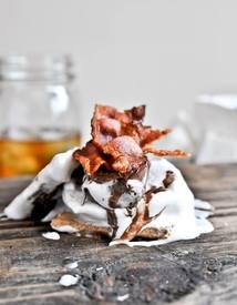 Bacon Bourbon Marshmallow S'mores!