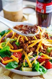 Bacon Cheeseburger Salad!