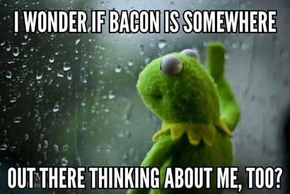 Kermit Loves Bacon!