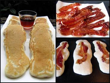 Bacon Pancake Dippers!