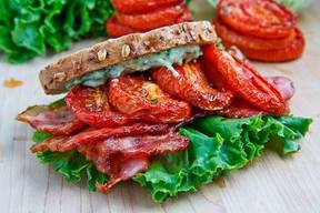 Slow Roasted Tomato Blt!