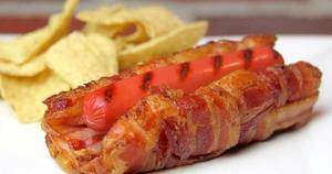 Bacon Hot Dog Bun!