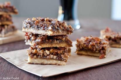 Beer & Bacon Pecan Bars!
