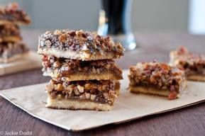 Beer & Bacon Pecan Bars!