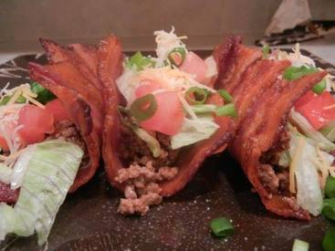 Bacon Taco Shells!
