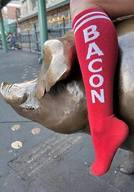 Thick & Comfy Bacon Socks!
