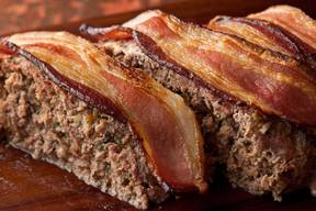 Bacon Cheddar Meatloaf!