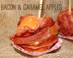 Bacon Caramel Apples! Well, I Just Had To Do It!