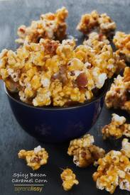 Spicy Bacon Caramel Corn!