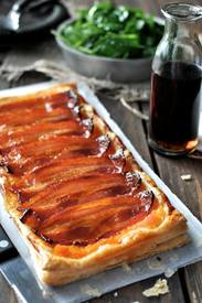 Maple Bacon Pumpkin Tart!