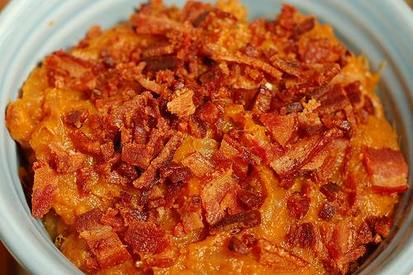 Maple Bacon & Beer Roasted Yams!