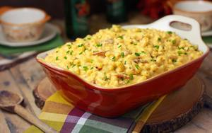 Beer Bacon Mac & Cheese!