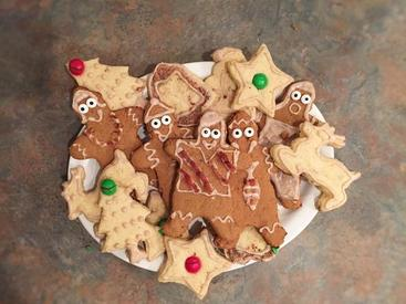 Bacon Christmas Cookies!