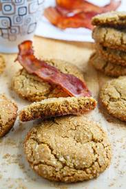 Bacon Gingersnap Cookies!