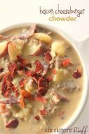 Bacon Cheeseburger Chowder!