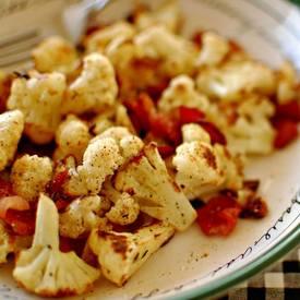 Pan Seared Cauliflower With Bacon & Garlic!