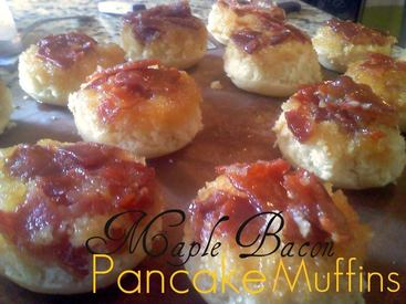Maple Bacon Pancake Muffins!