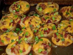 Loaded Bacon Potato Rounds!