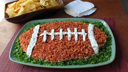 Bacon Football Dip!