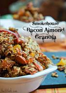 Smokehouse Bacon Almond Granola!