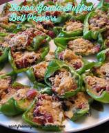 Bacon Gouda Stuffed Bell Peppers!