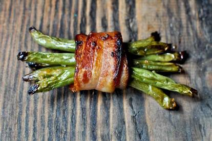 Green Bean Bacon Bundles!