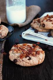 Browned Butter Bacon Chocolate Chip Cookies!