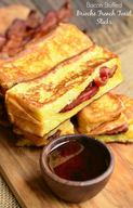 Bacon Stuffed Brioche French Toast Sticks!