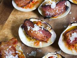 Bacon Clams Casino!