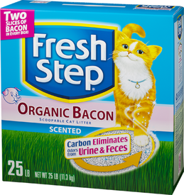 Bacon Scented Cat Litter!