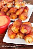 Cheesy Bacon Tots!