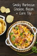Smoky Bbq Chicken Bacon Dip!