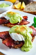 Bacon Eggs Benedict With Avodaise!